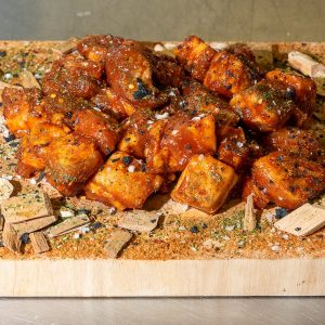 Pork Belly Cubes Burnt Ends