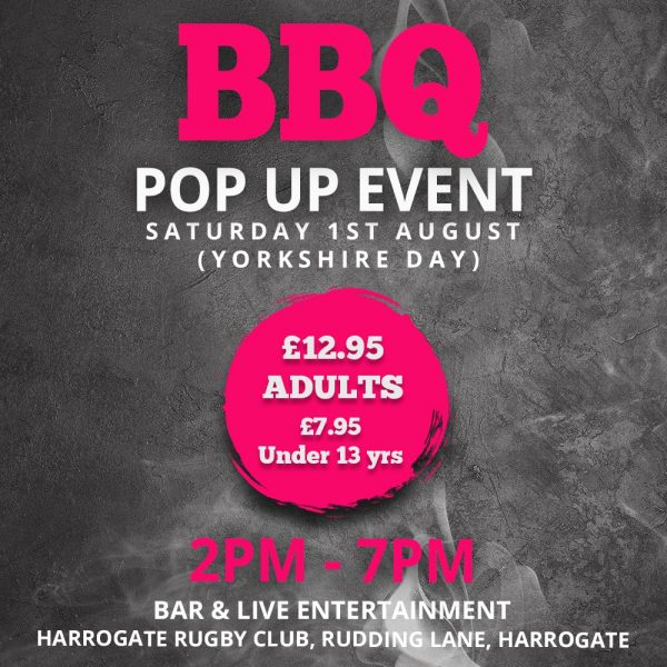 BBQ Pop Up Event